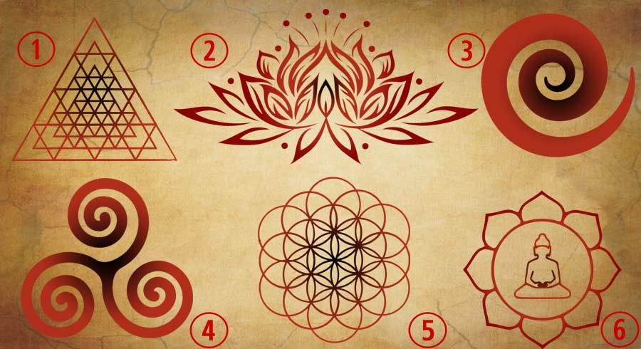 Test: Elige un símbolo para revelar tu mensaje de espíritu para mejorar