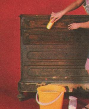Professione donna come verniciare e decorare un vecchio - Mobili in legno grezzo da dipingere ...