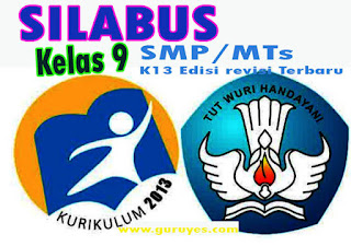 Silabus IPS K13 Kelas 9 Semester 1 dan 2 Edisi Revisi 2020
