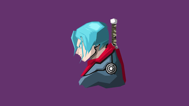 Trunks, Dragon Ball, DBZ, Arte, Minimalista