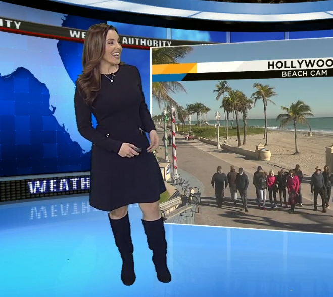 THE APPRECIATION OF BOOTED NEWS WOMEN BLOG : MIAMI'S