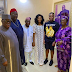 Photos from Obasanjo and Peter Obi Condole With Obi Ezeude CEO Of Beloxxi's Family