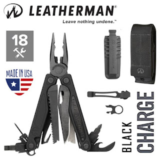 LEATHERMAN Charge ALX Black 18-In-1 Multi-Tool (Inc. 9pc Bit Kit, Quick Clip and Premium Sheath)