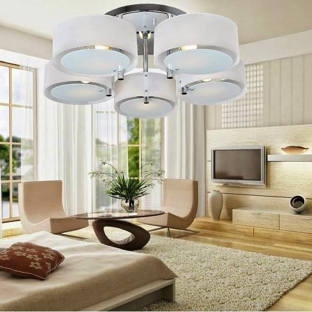 Desain Lampu Hias Cantik Ruang Tamu Minimalis