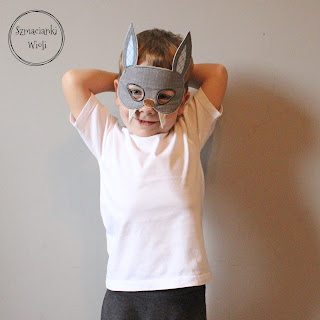 Maska na Halloween – Nietoperz