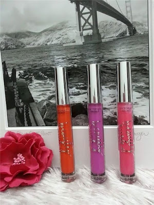Son bóng nhũ Victoria's Secret Beauty Rush Color Shine Gloss Totally Hot Color (hồng) - SM042
