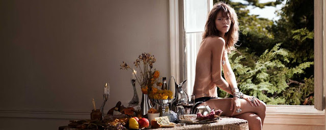 Re-imagined Georg Jensen ad campaign by Inge Jacobsen