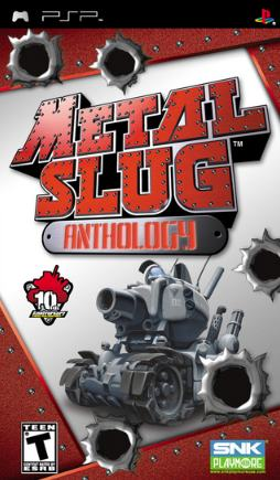 Metal Slug Anthology PSP (ISO - EUR)