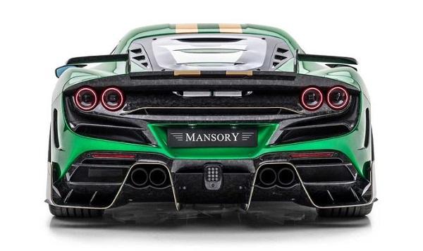 Mansory F8XX Ferrari F8 Tributo