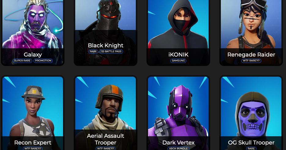 Fortskins.com Can Give You Free Skins Fortnite Battle ...
