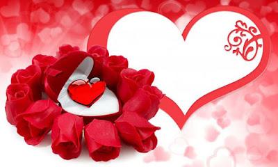 صورة قلوب حمراء حلوة جداً