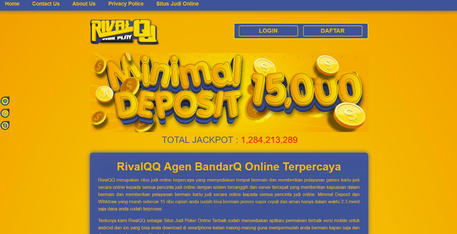 Website Judi Domino Online Yang Sangat Menguntungkan D2ohrlf579
