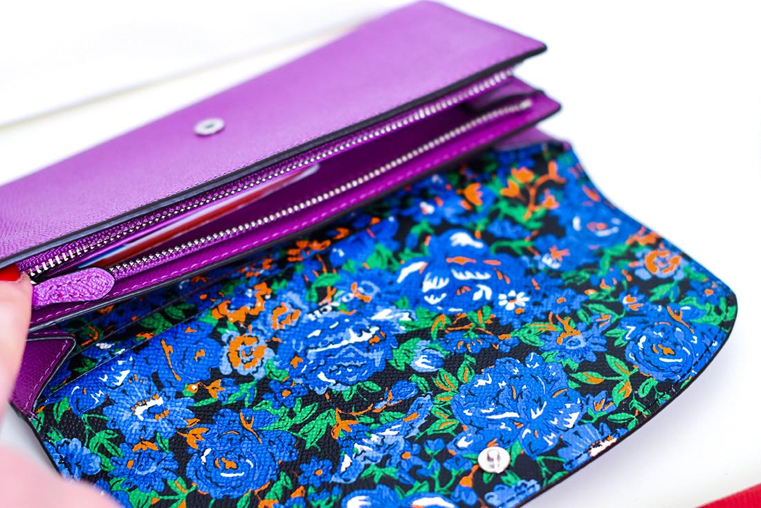 accessories,Coach purple wallet