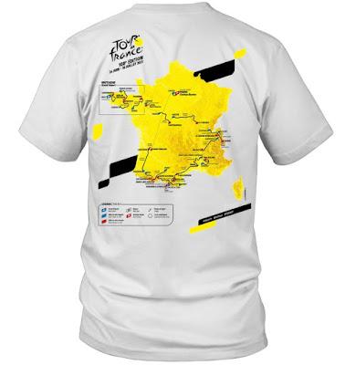 Le Tour de France 2021 Route T-Shirts