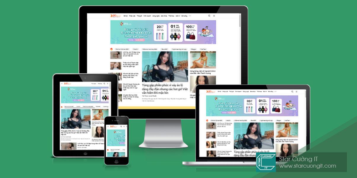Share template blogspot tin tức giống Zing News 99%