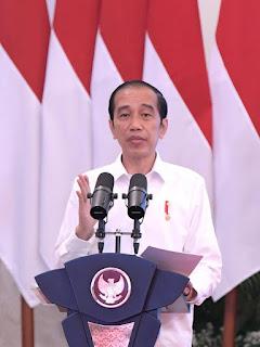 Presiden Jokowi memberi kata sambutan 'Rapat Terbuka Dies Natalis Ke-58 Universitas Brawijaya'