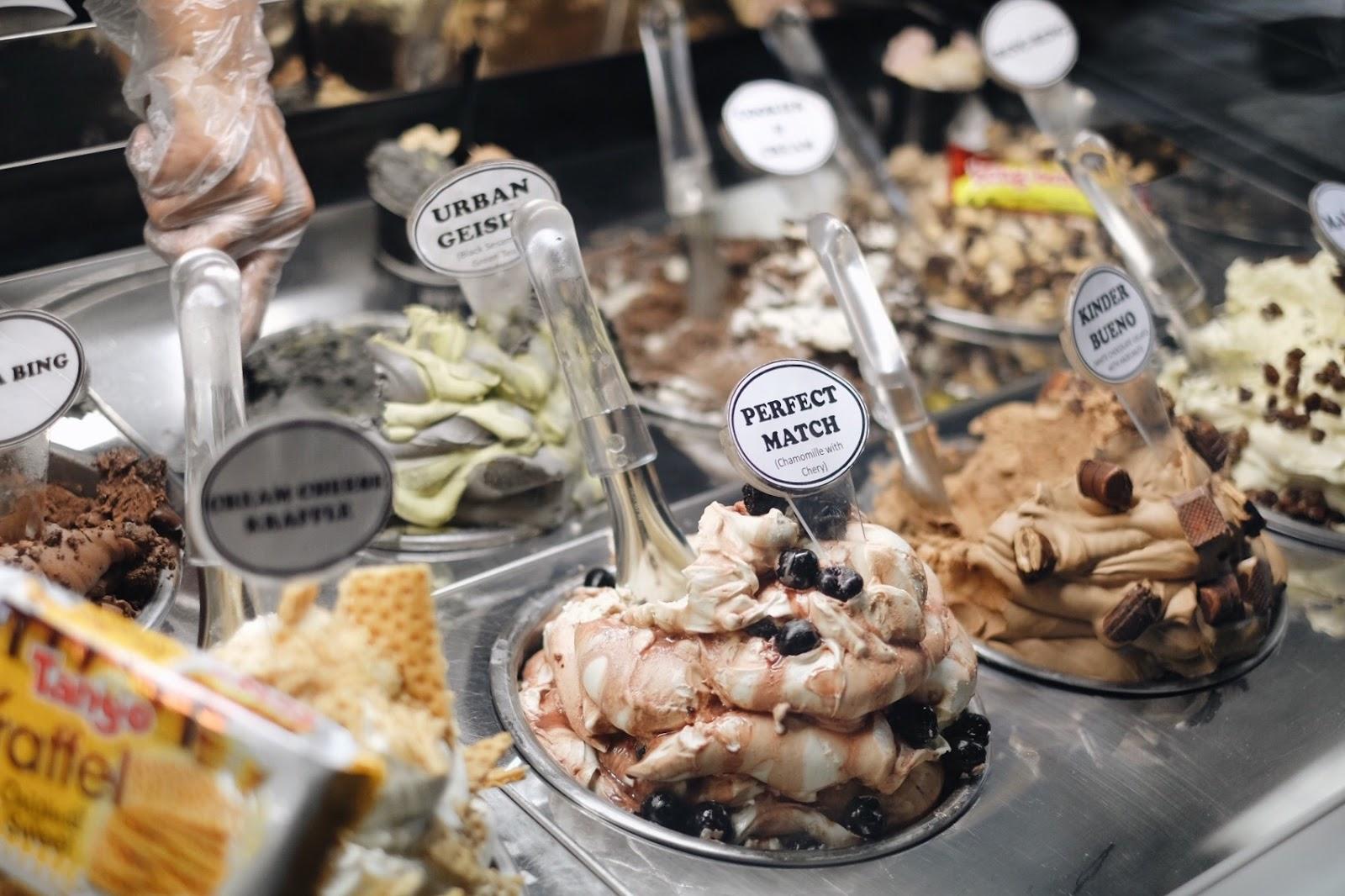 gelato jakarta - latteria gelato