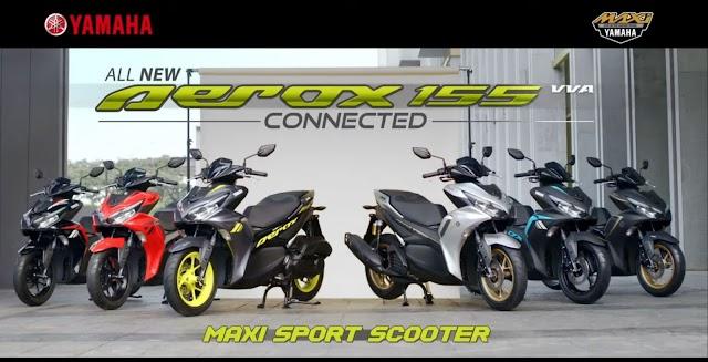 Yamaha Rilis All New Aerox 155 VVA Connected, Lebih Keren?