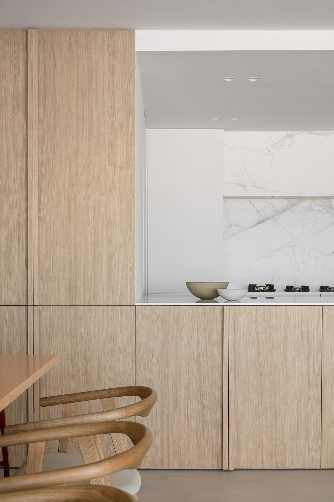 ilaria fatone - Elegance and Simplicity in a Minimal Home - kitchen