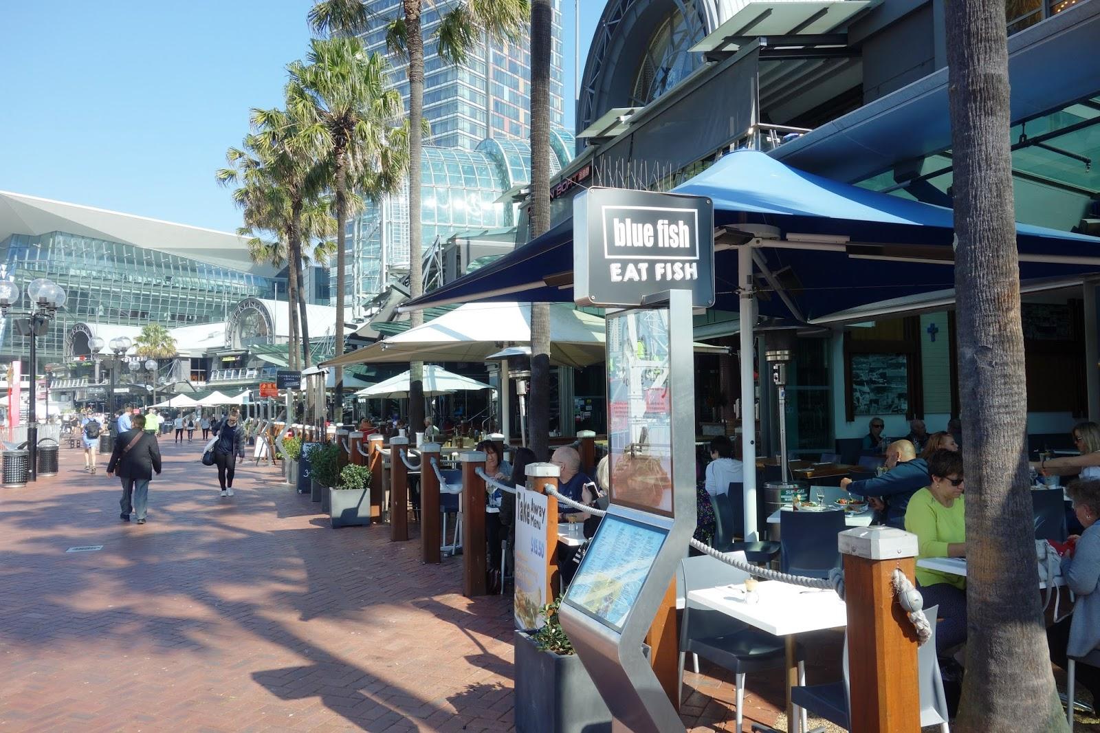 Blue Fish Seafood Darling Harbour