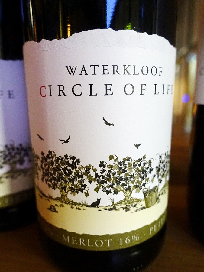 Waterkloof Circle of Life Red 2015 (88 pts)