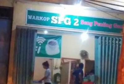 Foto Warung SPG Dari Depan