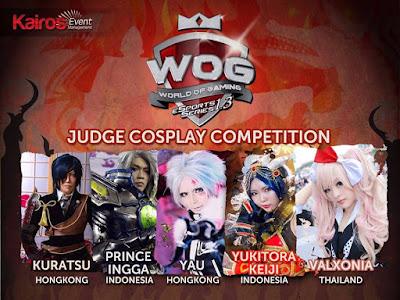 juri cosplay World Of Gaming eSport Series 1.3