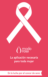 MODO ROSA: AUTO DETECCIÓN TEMPRANA EN CANCER DE SENO.