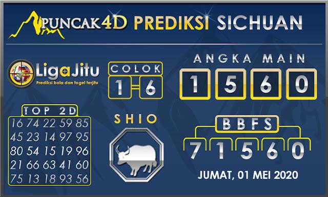 PREDIKSI TOGEL SICHUAN PUNCAK4D 01 MEI 2020