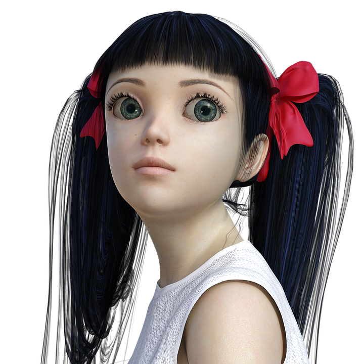 Cry Anime Girl