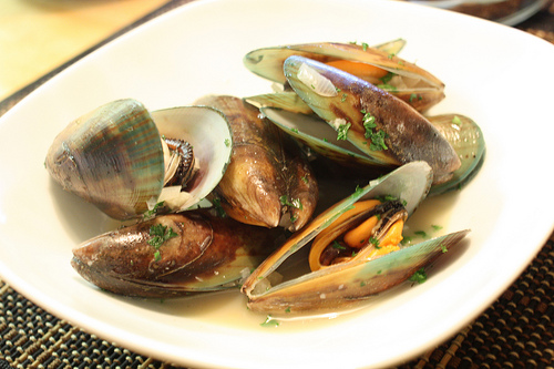 Behind The French Menu Moules Mussels Moules Frites And Much