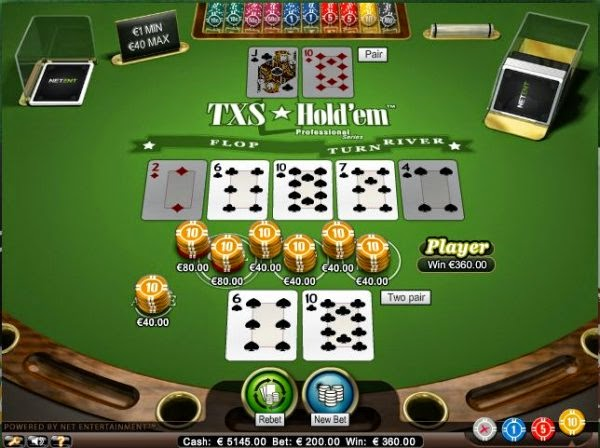 Online Games - Texas Hold em Poker