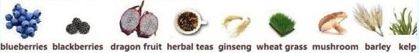 vishudhi chakra food examples