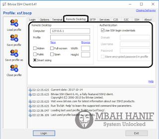 Pada Kesempatan ini Saya Akan Memberikan Settingan Bitvise Lengkap Beserta Gambarnya Download Cara Setting Bitvise Lengkap