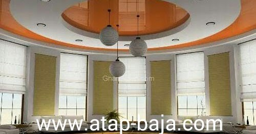 Menghitung biaya Plafond gypsum Rangka Baja Ringan Dan