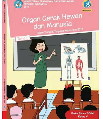 Daftar Kunci Jawaban Soal Kelas 5 Tema 1 Organ Gerak Hewan dan Manusia