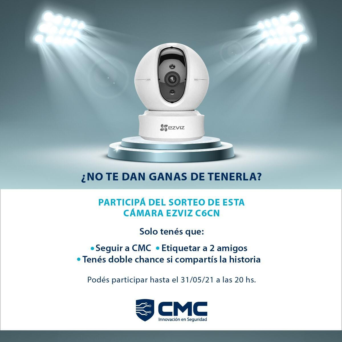 Sorteo CMC en Facebook