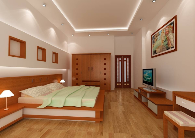 Sàn gỗ sồi cho phòng ngủ