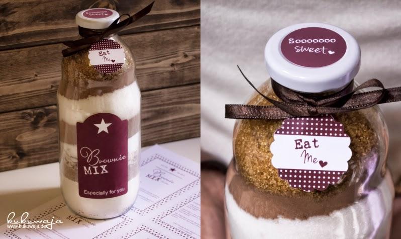 Scandiliebe By Kukuwaja Brownie Backmischung Und Verpackungsideen