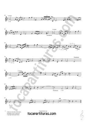 Hoja 2 Corno Inglés Partitura de Meditación Sheet Music for English Horn Music Scores Otros PDF/MIDI de Corno Inglés