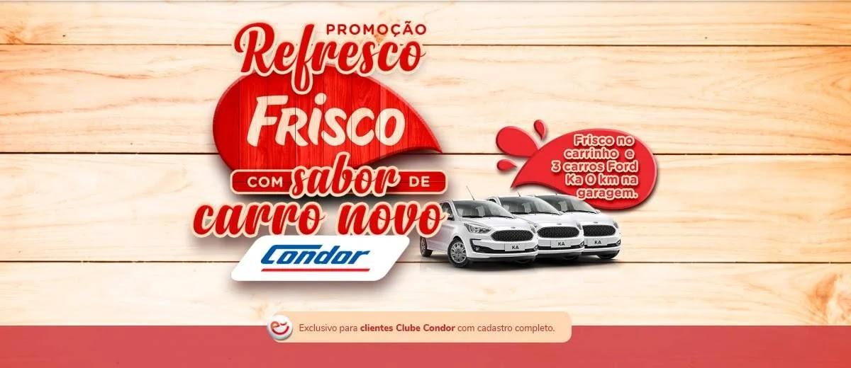 Promoção Frisco e Condor 2020 Concorra Automóveis