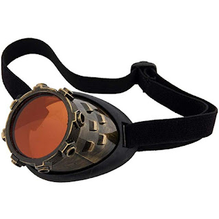 Gold Steampunk Monocle