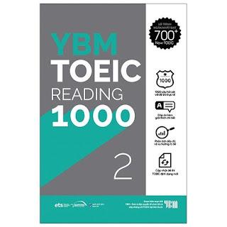 YBM Toeic  RC1000 - Vol 2
