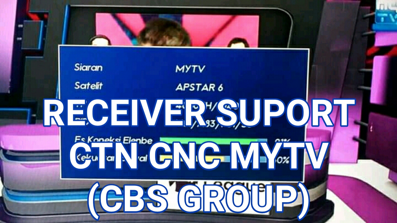 Receiver Yang Suport CBS Group Apstar 6