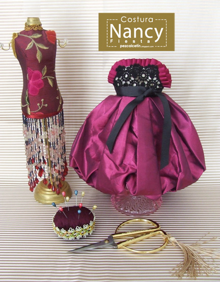 """vestido nancy"" ""costura"" ""pez calcetin"""