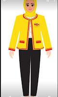 model seragam dancow