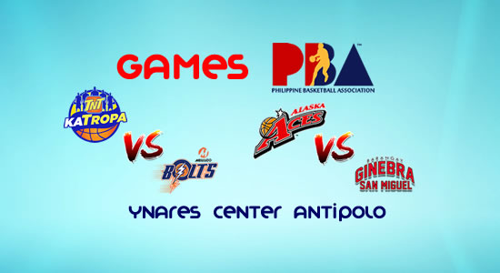 List of PBA Games: January 21 at Ynares Center Antipolo 2017-2018 PBA Philippine Cup