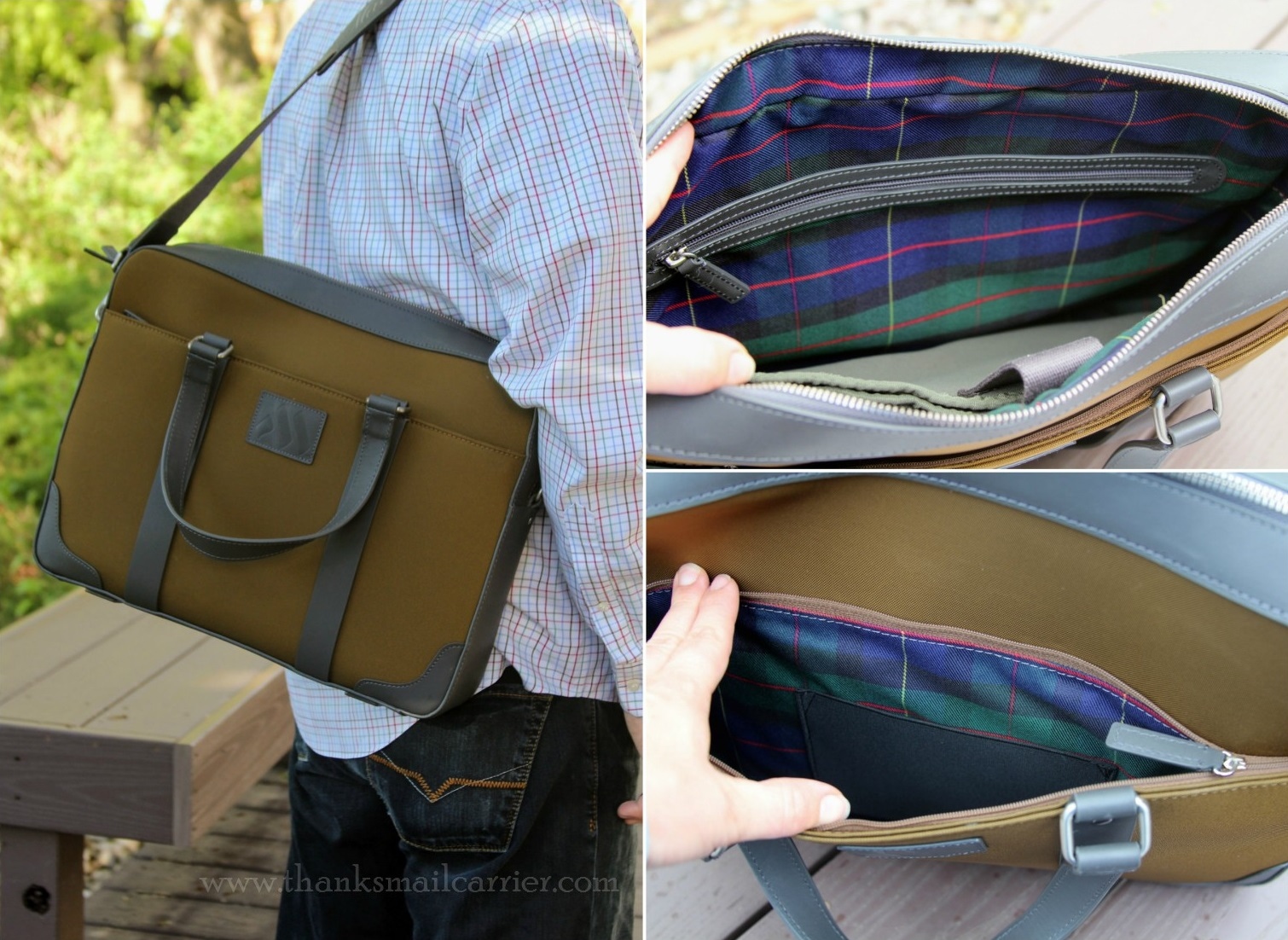 Machir Executive Slim Briefcase review