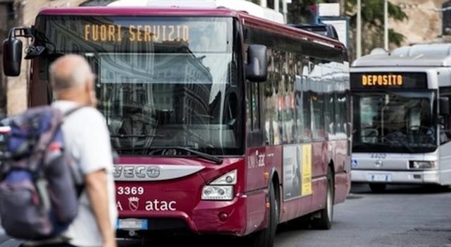 Situazione del trasporto pubblico di Roma di venerdì 29 maggio