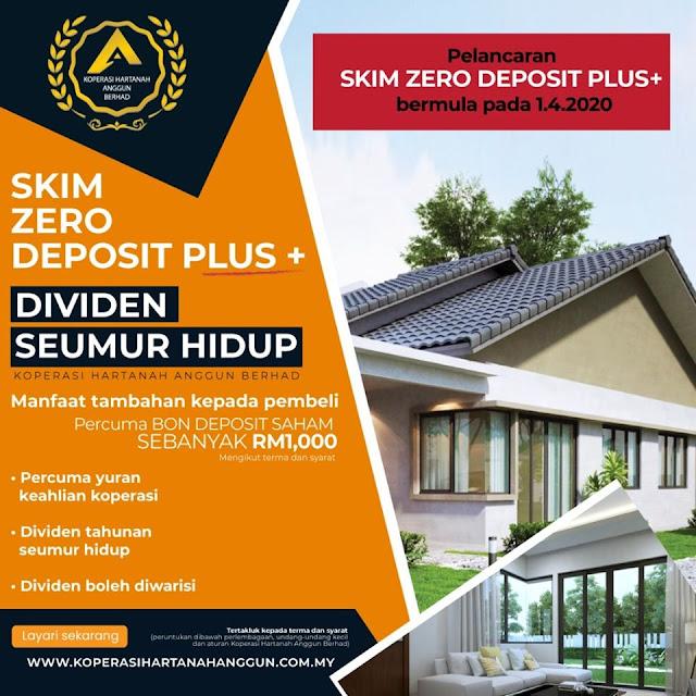 Skim Zero Deposit Plus +